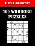 100 Wordoku Puzzles Book - A Word Sudoku Puzzle Book: Logic Based Letter Puzzle Book for Puzzle lovers (Wordoku Puzzle Books by Elmsleigh Designs)