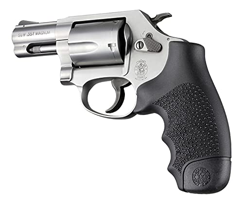 Hogue Hunting Grip S&W J Frame Round Butt Rubber Monogrip