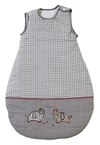 roba roba Schlafsack, 70cm, Babyschlafsack ganzjahres/ganzjährig, aus atmungsaktiver Baumwolle, Schlummersack unisex, Kollektion 'Jumbotwins'