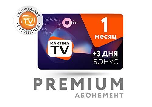 Kartina TV 1 Monat ABO+3 Tage gratis Premium Paket! 200+ Sender in Bester Bild und Ton Qualität, Mediathek, Start, IVI, Megogo. Offizieler Shop von Kartina.TV!