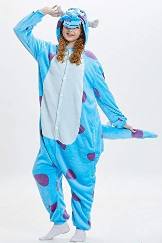 Partylandia Disfraz de Monstruo Peluche Pijama - Unisex, nica