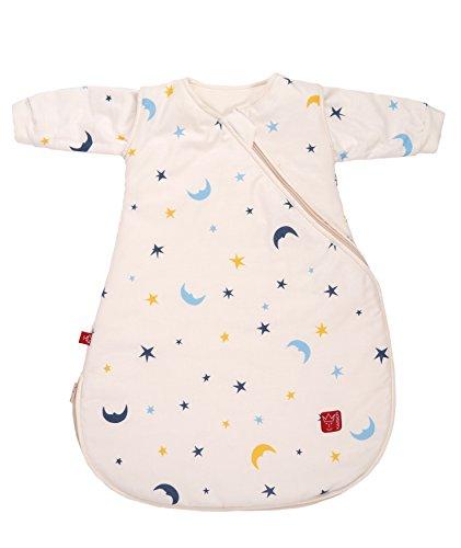 Kaiser Ganzjahresschlafsack Willy 65060080, Mond und Sterne beige, 60 cm lang