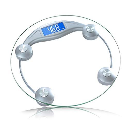 Weight Watchers Schaal Digital Glass Weegschaal, Digitale Weegschaal Met Extra Grote Verlichte Display, One Size, Clear