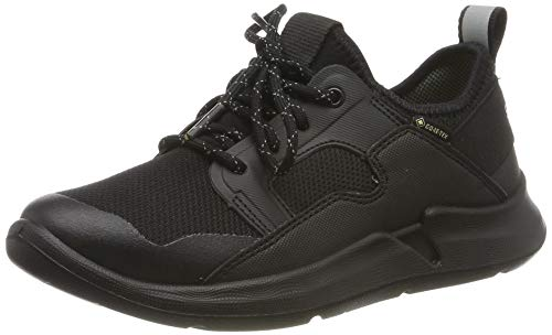 Superfit Jungen Thunder Gore-Tex Sneaker, Schwarz (Schwarz 00), 39 EU