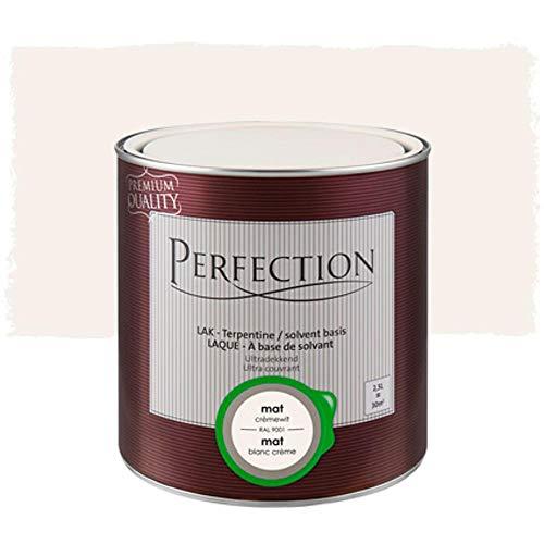 Laca a Base de Disolventes, Perfection - Mate - RAL 9001 crema...