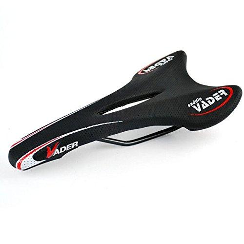 Foxnovo VDAER VD-3411 para bicicleta de montaña de carretera Offroad para sillín (negro)