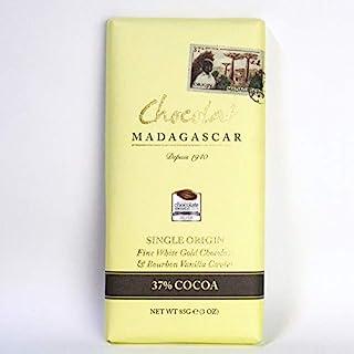 ショコラマダガスカル チョコレート 85G  (ホワイト37%ブルボンバニラ入)