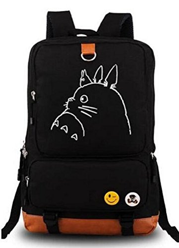 YOYOSHome Anime My Neighbor Totoro Cosplay Luminous Bookbag Backpack School Bag