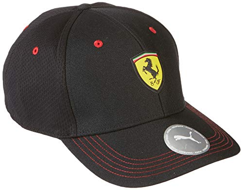 Puma Ferrari Fanwear BB Cap Gorra, Unisex Adulto, Black, Talla Única