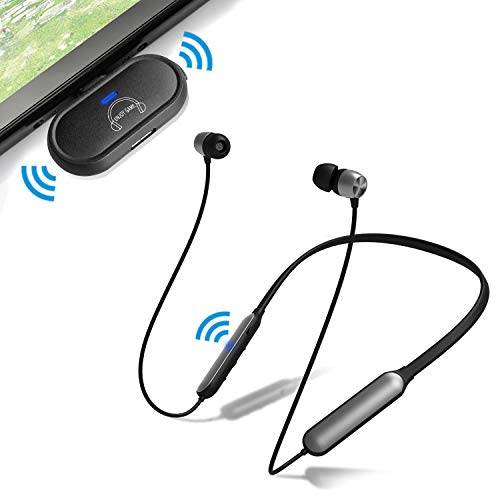 Giveet USB C Bluetooth Transmitter Adapter with Headphones for Nintendo Switch PS4 PC