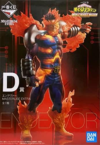 一番くじ 僕のヒーローアカデミア THE MOVIE WORLD HEROES' MISSION D賞 エンデヴァー MASTERLISE EXTRA