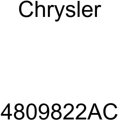Genuine Chrysler service 4809822AC Shield Some reservation Heat