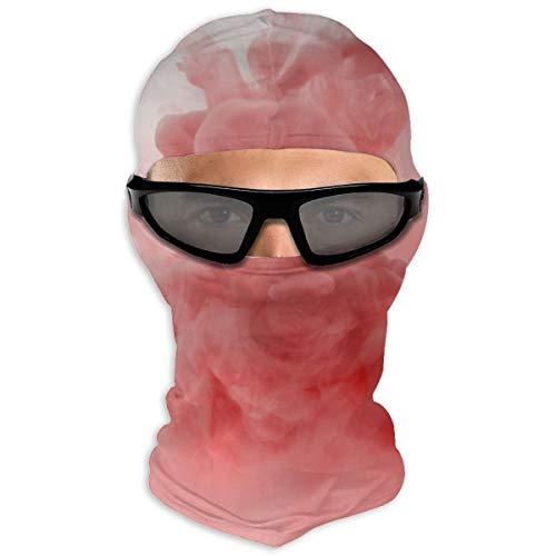 N/A Full Face Beschermende film Rode Rook Hood Zonnebrandcrème Dual Layer Koud Voor Mannen En Vrouwen