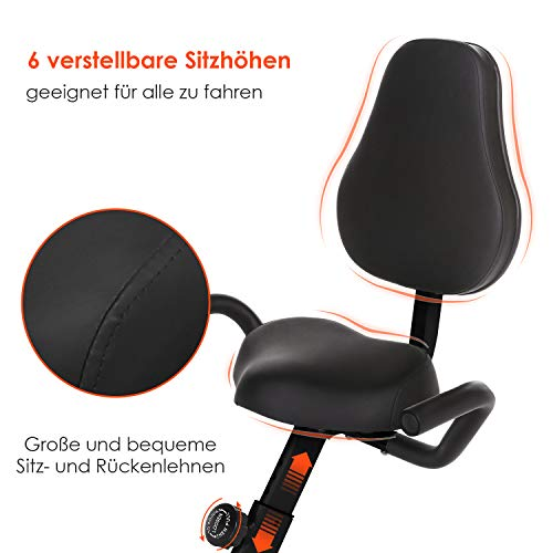 Fitness Trainingsrad ANCHEER 2 in 1 Heimtrainer Bild 4*
