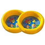 GJKK Haushaltsgarten aufblasbarer Swimmingpool, Tragbarer aufblasbarer Pool Kiddie Planschbecken für Baby Kinder