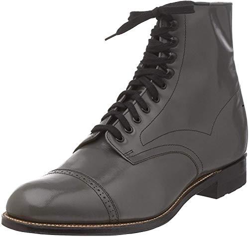 Stacy Adams Herren Madison Cap Toe Boots, Grau (Steel Gray - 15), 46 EU