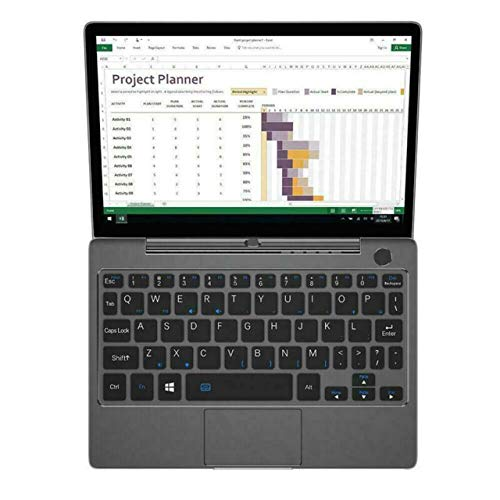GPD P2 Max 8.9 Inches Portable Ultrabook Mini pc Notebook Laptop UMPC Touch Screen Tablet CPU Intel m3-8100Y GPU HD Graphics 615 WIN10 16GB RAM/512GB ROM,Amber Black