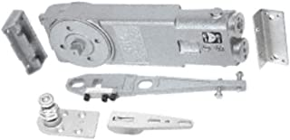 CRL 90 Degree Hold Open Adjustable Spring Power Overhead Concealed Door Closer -