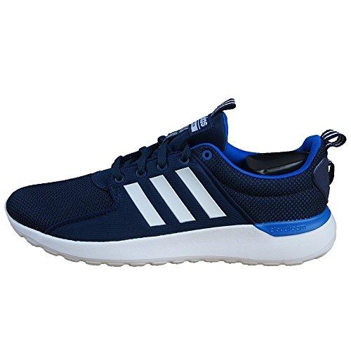 adidas Herren Cloudfoam Lite Racer Gymnastikschuhe, Blau (Collegiate Navy/FTWR White/Blue Collegiate Navy/FTWR White/Blue), 42 2/3 EU
