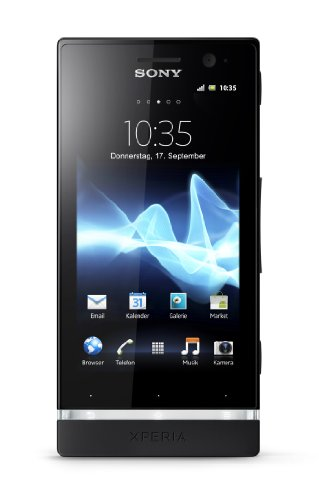 Sony Xperia U Smartphone (8,9 cm (3,5 Zoll) Touchscreen, 5 Megapixel Kamera, Android 2.3, UMTS) schwarz/pink/gelb