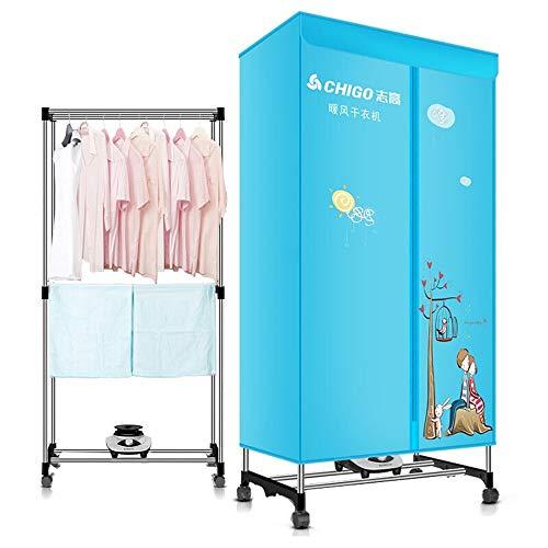 Clothes dryer 1200W Trockner, Haushalts-Doppelschicht-Schnelltrockner, Kleiner Schranktrockner, Schnelltrockenofen, große Kapazität
