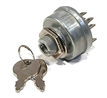 The ROP Shop | Ignition Switch with Keys for Murray 40508x92G 40508x92H 40  Riding Lawn Mower