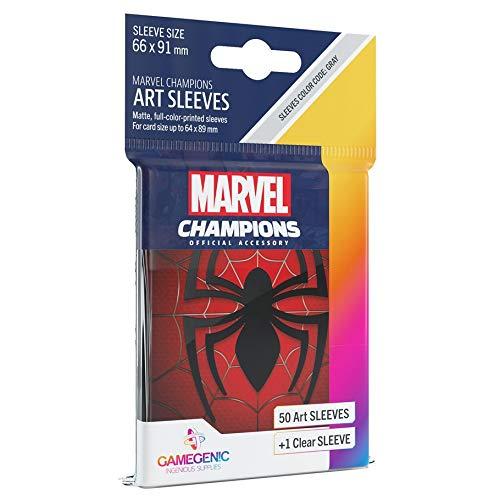 GAMEGEN!C Marvel Champions Sleeves Spider-Man (G10093)