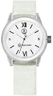 Q&Q Girls RP18J002Y Year-Round Analog Solar Powered White Watch