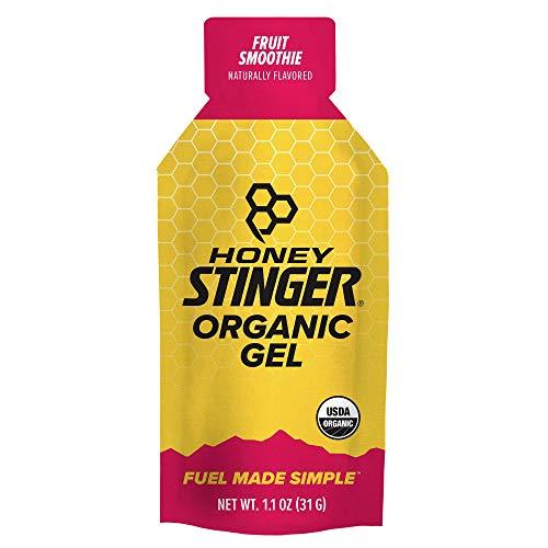 Honey Stinger Organic Energy Gel, Fruit Smoothie, Sports Nutrition, 1.1 Ounce (Pack of 24)