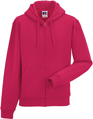 Russell Unisex Sweatjacke Authentic Zipped Hood R-266M-0 Fuchsia 3XL