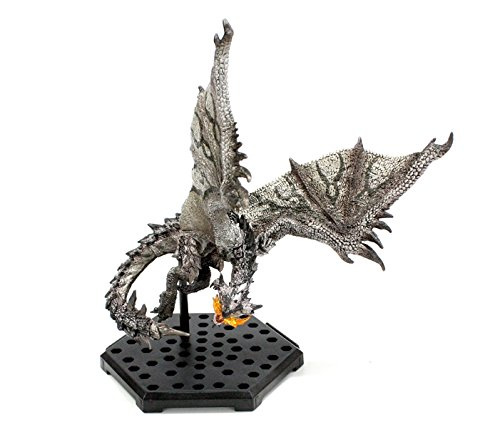 MONSTER HUNTER Figure Builder Anger Plus Figurine Rathalos silvergrey (~12cm)