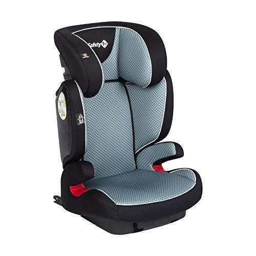 Safety 1st Road Fix Seggiolino Auto Isofix 15-36 kg, Gruppo 2/3, Unisex Bambini, dai 3.5 Anni ai 12 Anni, Grigio (Pixel Grey)