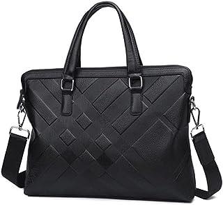 Fyuanmeiishoutb briefcase, 1pc Men's Leather Bags, Handbags, Real Cowhide Briefcases, Fashion Shoulder Bags, Men's Work Bu...