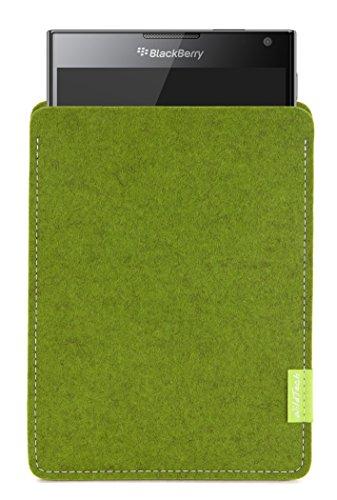WildTech Sleeve für BlackBerry Passport Hülle Tasche - 17 Farben (Handmade in Germany) - Farn