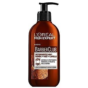 L'Oréal Paris Men Expert, línea Barber Club - Producto para el cuidado de la barba detergente 3 en 1
