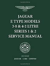 Jaguar E-Type 3.8 & 4.2 Litre Series 1 & 2 Service Manual (Official Workshop Manuals)