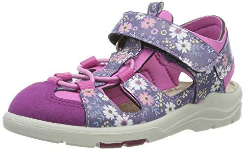 RICOSTA Mädchen Gery Geschlossene Sandalen, Pink (Nautic/Peony 181), 22 EU