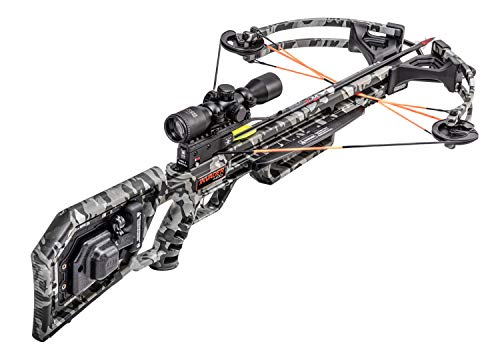 Wicked Ridge Invader 400 Crossbow with Acudraw 50, Pro View Scope Package