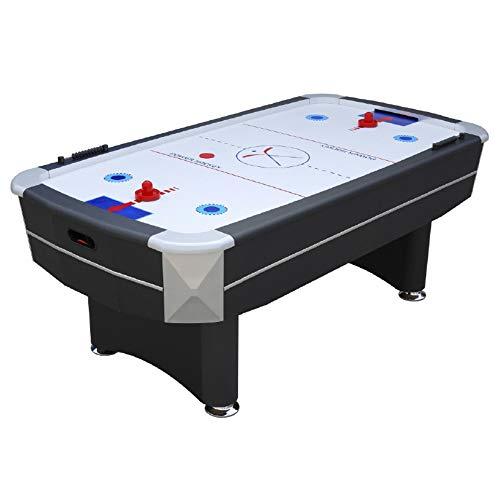 Devessport - Airhockey Deluxe - Acabados en Acero Cromado - Fácil Montaje - Ideal para Jugar con...