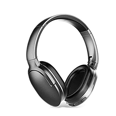 Bluetooth Headphones Over Ear, IAVATECH Foldable Headphones Wireless Bluetooth Hi-Fi Stereo Headset With Microphone For Hands-Free Calling and Wired Mode for Cell Phones/TV PC by IAVATECH