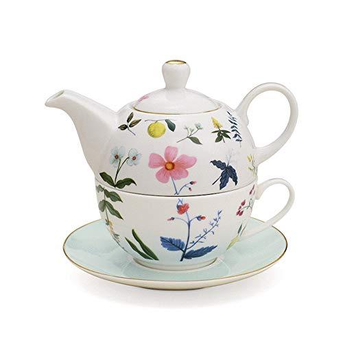 Neavita Tea For One Garden Party Teiera Azzurra