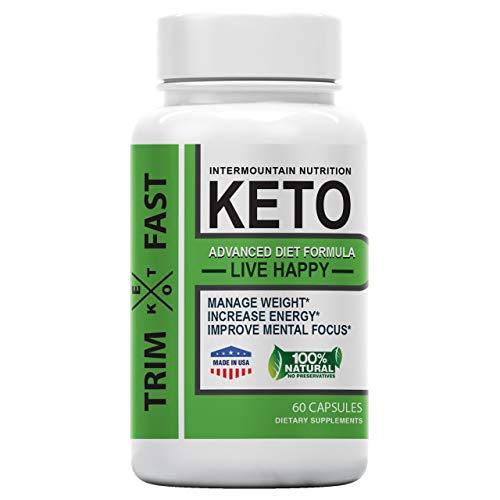 Trim Fast Keto, Trim Fast Keto Pill, Advanced Diet Formula, The Official Brand Dietary Supplements