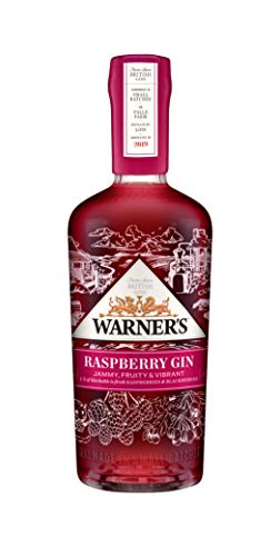 Warner Edwards Gin - Raspberry Gin, 40% Vol - 70cl Bottle