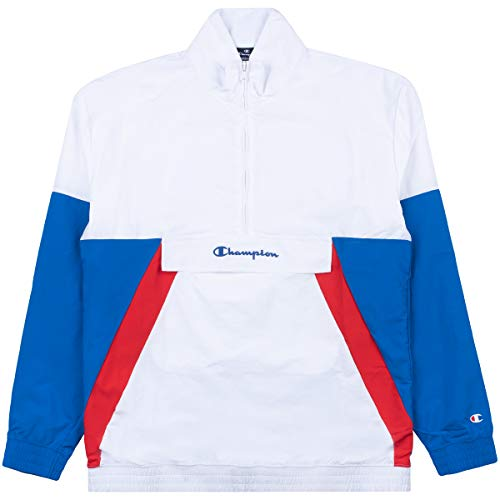 Champion Men Track Jacket Half Zip Sweatshirt 214240