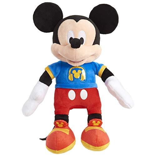 Disney Junior Mickey Mouse Singing Fun Mickey Mouse, 12-inch plush
