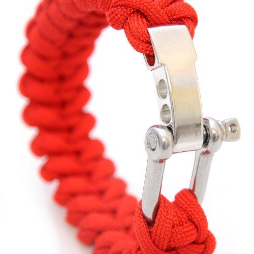 De survie (universel compact pour bracelet tressé en parachute cord déchirure \