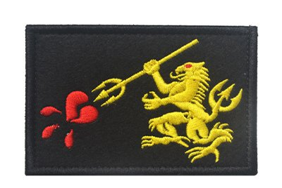 Antrix US Navy Seal Team Military Emblem Badge Patch Hook & Loop Tactical Navy Seal Team Trident Patch - 3.15'x2'