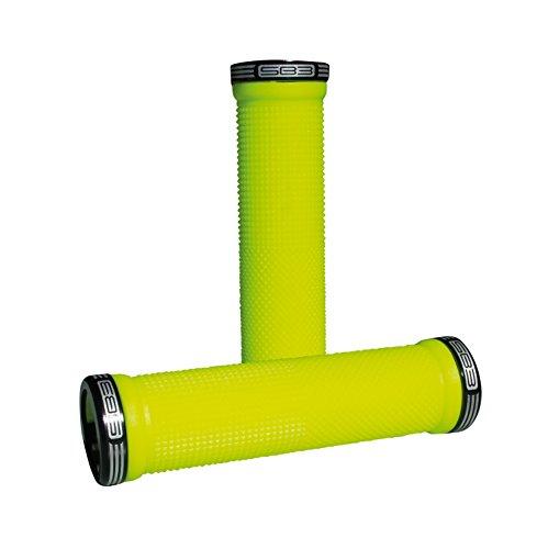 SB3Cheops, Grips Paar Fahrradgriffe, Unisex Erwachsene, Neon Gelb