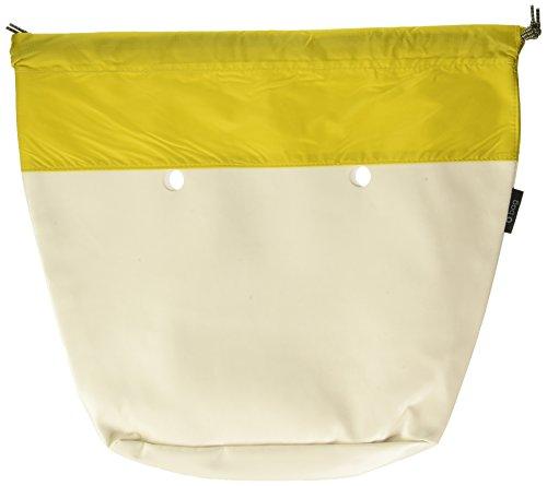 O bag Coulisse, Borsa a Mano Donna, Giallo, 29x25x9 cm (W x H x L)