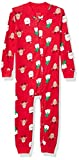 Little Me Kids' Toddler Holiday Cotton Pajamas, Red, 2T